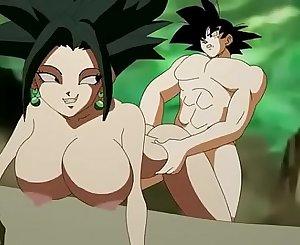 Goku fucks kefla in the tournament of power