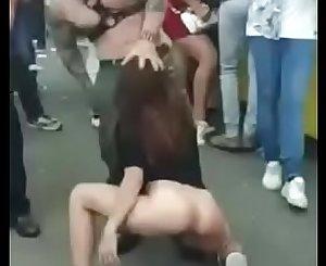 literally fucking in public