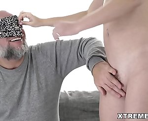 Sasha Sparrow loves sugardaddy's shaft