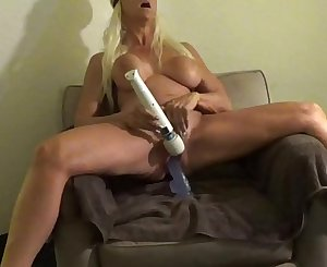 Extreme injection screaming ORGASM Sitting astride BIG BLUE Faux-cock TO LOUD LONG ORGASM WOW POWERFUL EARTH SHAKING ORGASM Sitting astride HUGE Faux-cock WITH HITACHI ROCKING BLONDE BANDITT TO UNBELIEVABLE POWERFUL ORGASM cum see me @manyvids.com search