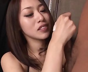 An Yabuki loves to feel the cock fully in her throat - More at Slurpjp.com