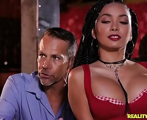 FULL SCENE ON http://bit.ly/SneakySexxx - Last Call - Aaliyah Hadid