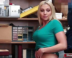 LP officer fucks two hot shoplifters