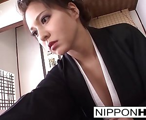 Asian cockblowers shows off her blowjob skills