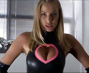 Latex Femdom Mistress JOI